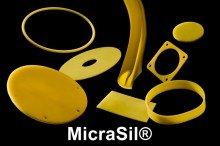 Антибактериален силикон на листи